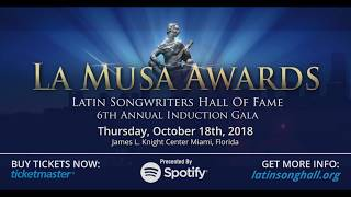 Latin Songwriters Hall of Fame LA MUSA Awards #Miami