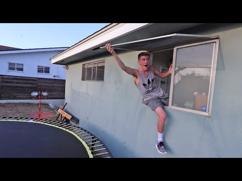 BREAKING INTO TANNER FOX'S HOUSE!!