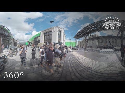 Fantastic Beasts' New York City | 360 Video | J.K. Rowling's Wizarding World