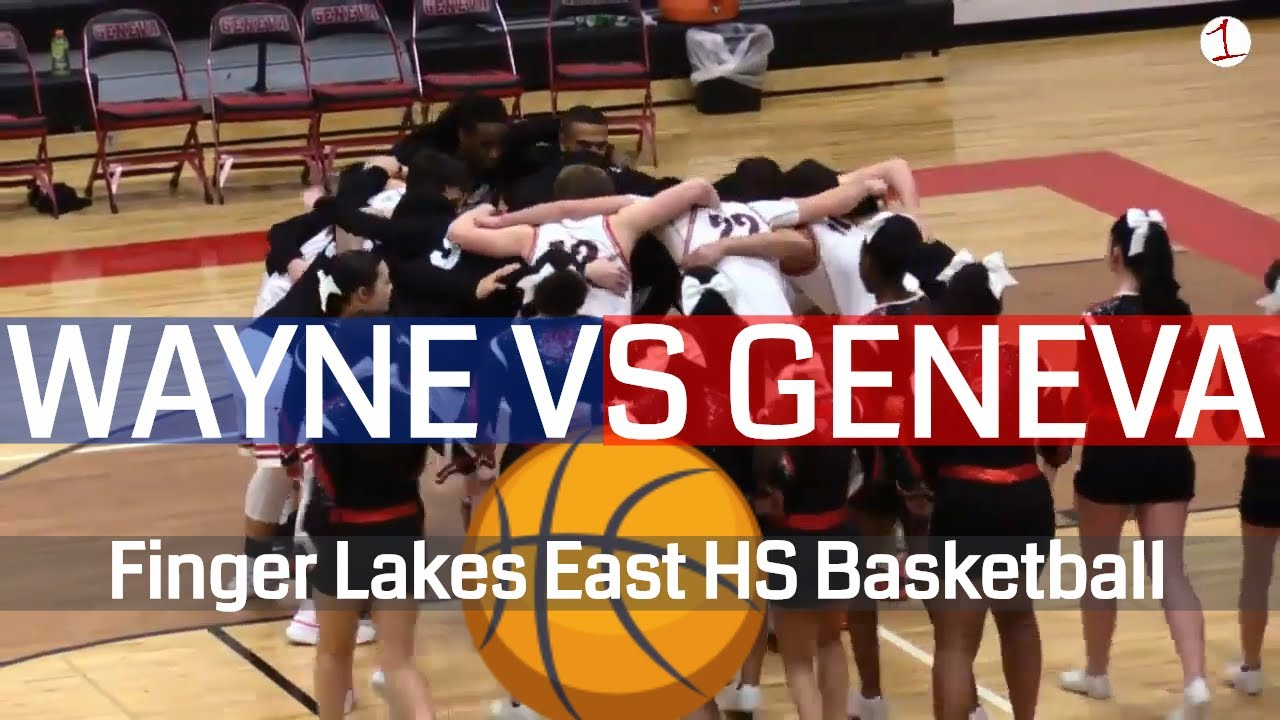 Wayne Eagles vs. Geneva Panthers .::. Finger Lakes East Boys Basketball on FL1 Sports 1/29/19