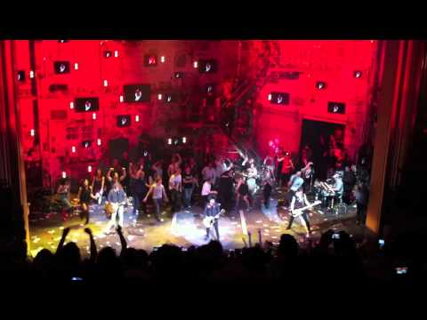Green Day Surprise Set After Final American Idiot Musical 10. Jesus Of Suburbia 4/24/11