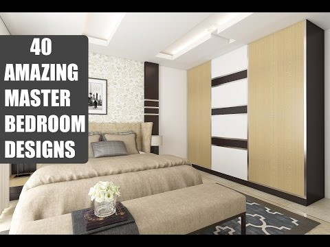 40 Amazing Master Bedroom Designs | Interiors | Bonito Designs