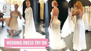 Wedding Dress Shopping and Try on at Jovani