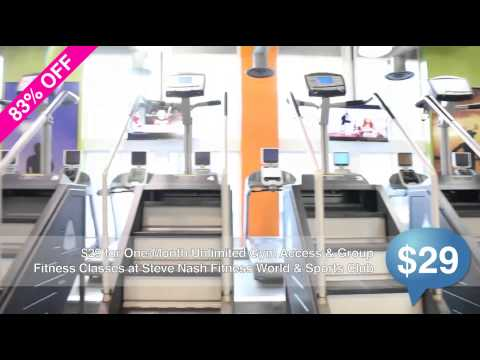 SocialShopper.com Daily Deal – Steve Nash Fitness Center
