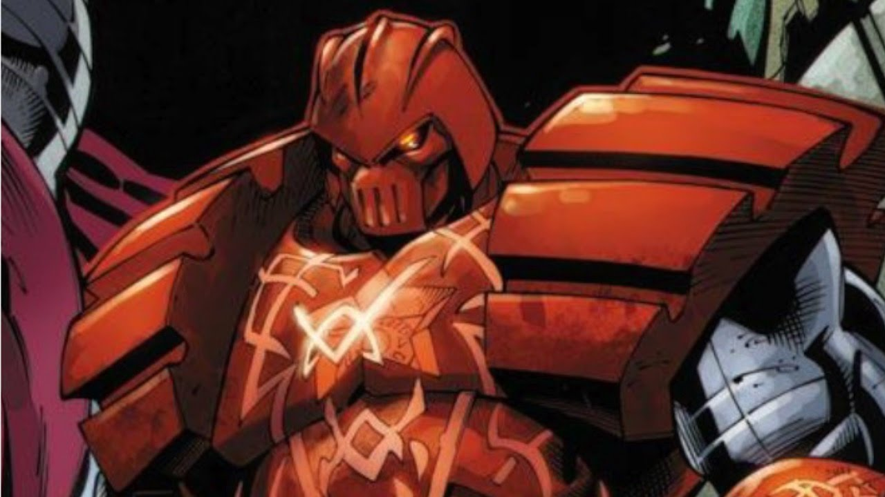 Supervillain Origins: The Crimson Dynamo - YouTube