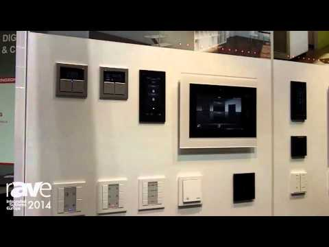 ISE 2014: JUNG Exhibits New Push Button Series Building Manangement System