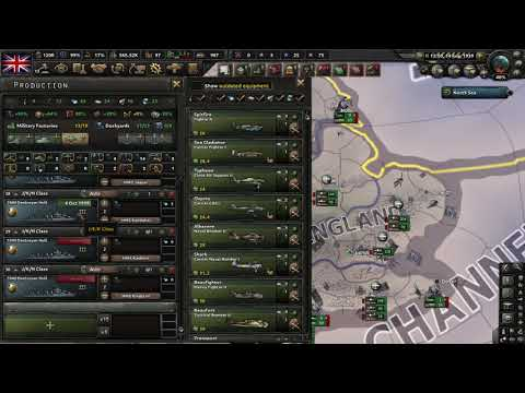 Hearts of Iron IV La Resistance Gameplay (PC Game) |