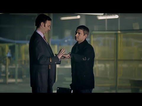 John Watson Meets Mycroft Holmes - A Study In Pink - Sherlock - BBC