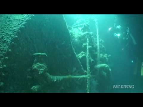 TAIEI MARU WRECK DIVING (沈船ダイビング)