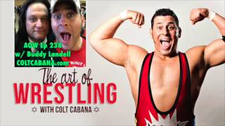 Buddy Landel - Art of Wrestling Ep 238 w/ Colt Cabana