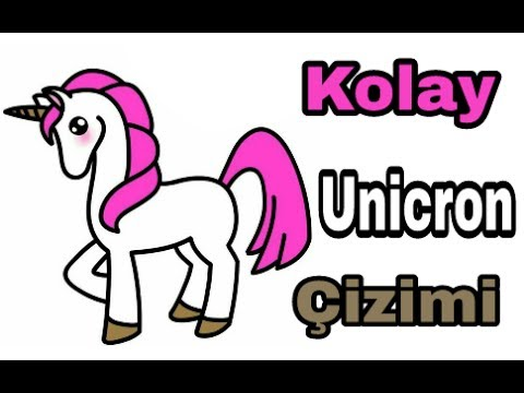 Tek Boynuzlu At Unicron çizimi Youtube