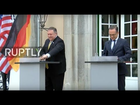 LIVE: Pompeo and Maas hold joint press conference after their meeting in Berlin