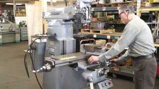 "BRIDGEPORT 9"" x 36"" Vertical Milling Machine"