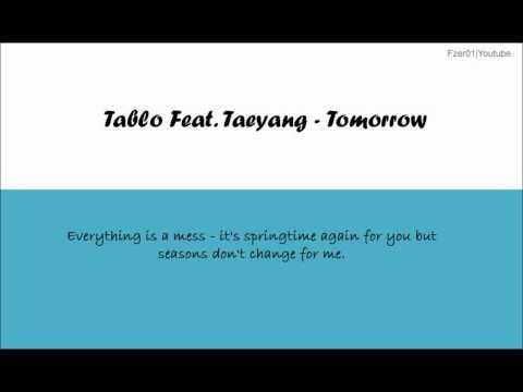 [ENG LYRICS] [HD] Taeyang ft Tablo - Tomorrow