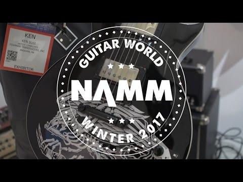 NAMM 2017 - Fishman  - Tosin Abasi Pickups, Killswitch Engage Pickups, Willie Adler Pickups