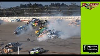 Ricky Stenhouse Jr., Kyle Busch and 14 others involved in