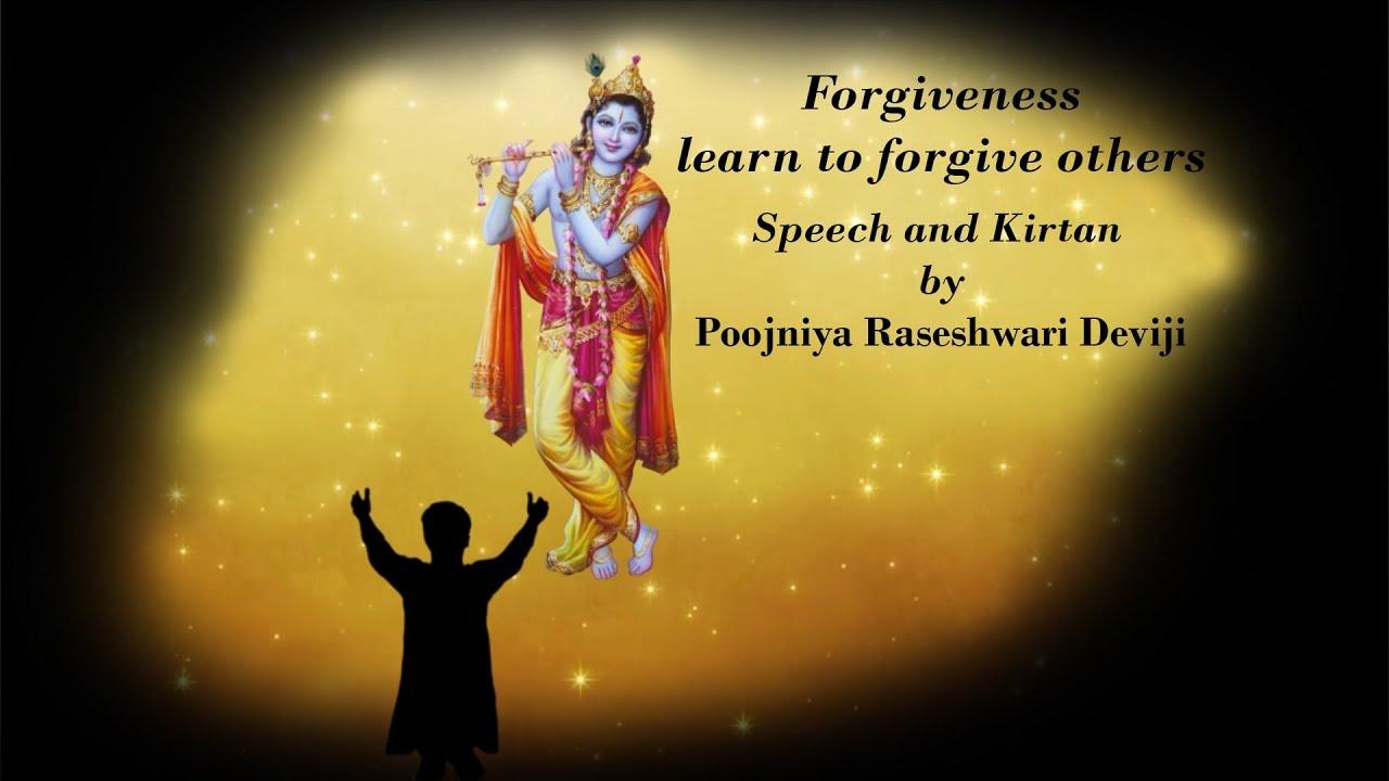 forgiveness day speech