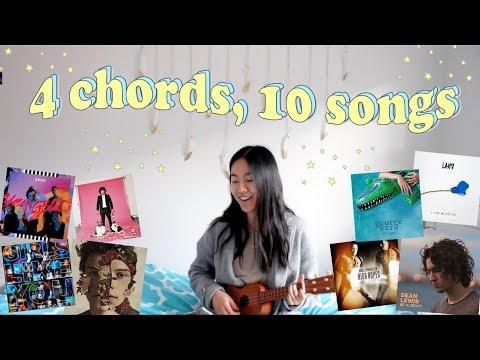 1 Girl, 4 Chords, 10 Songs 🎵 (Ultimate Ukulele Mashup no.4)