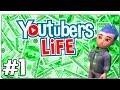 EL SIMULADOR DE YOUTUBER DEFINITIVO   YOUTUBERS LIFE - EP 1   PC GAMEPLAY COMENTADO ESPAÑOL mp3 indir
