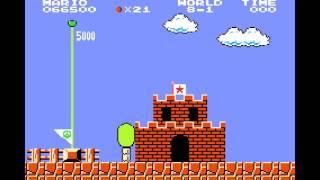 Super Mario Bros for GBA: 4:58.85 (TAS)