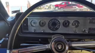 1965 Mercury Marauder 2 door hard top. Mecum auction March 12 2016 lot S145 Kansas City.