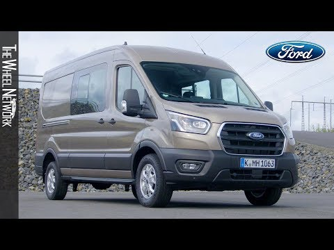2020-ford-transit-double-cab-in-van-|-driving,-interior,-exterior