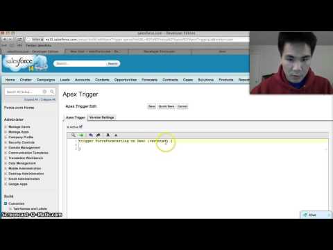 How to write a Salesforce Trigger (Part 1 of 2)