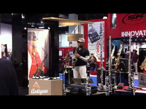 Marcus Anderson & Antigua Power Bell in NAMM 2012