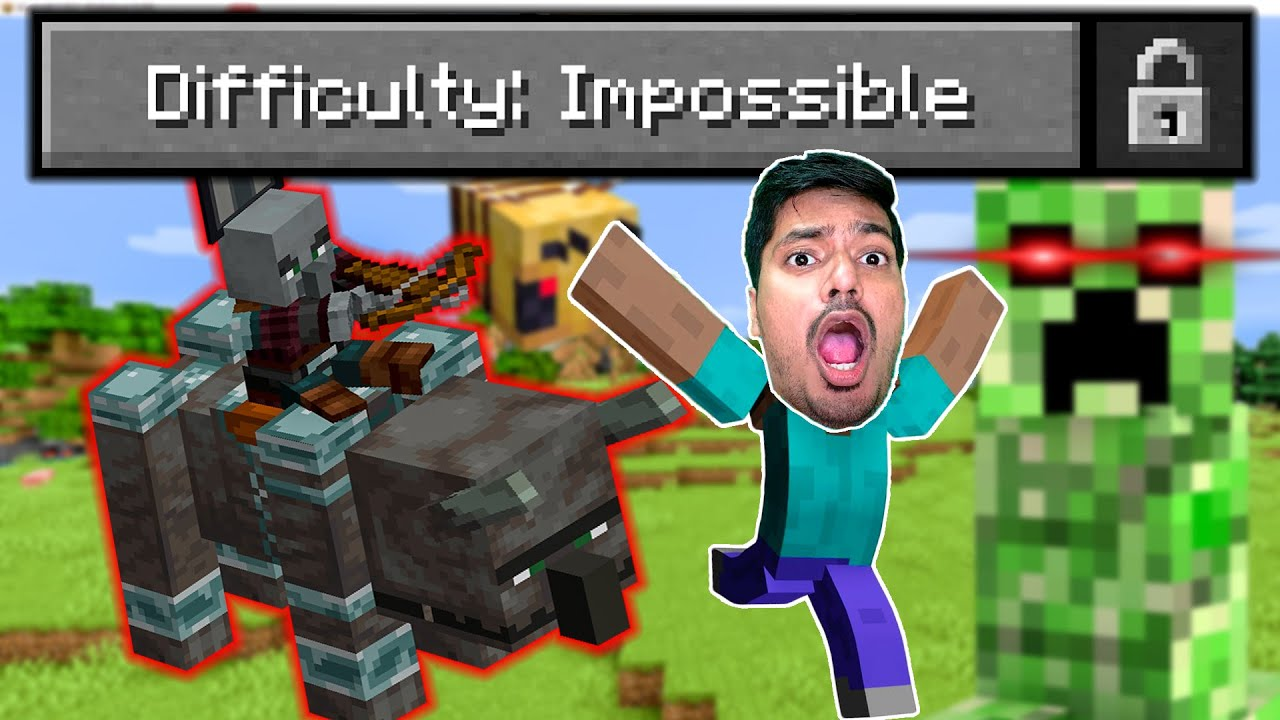 Hardest Mode Minecraft Challenge !!! Gone Wrong !!