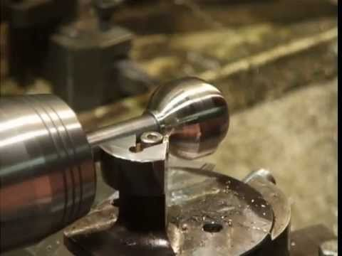 Ball and concave turning attachment for the mini lathe - YouTube