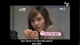 SNSD HyoSic #11 - Hyoyeon knows Jessica too well - Stafaband