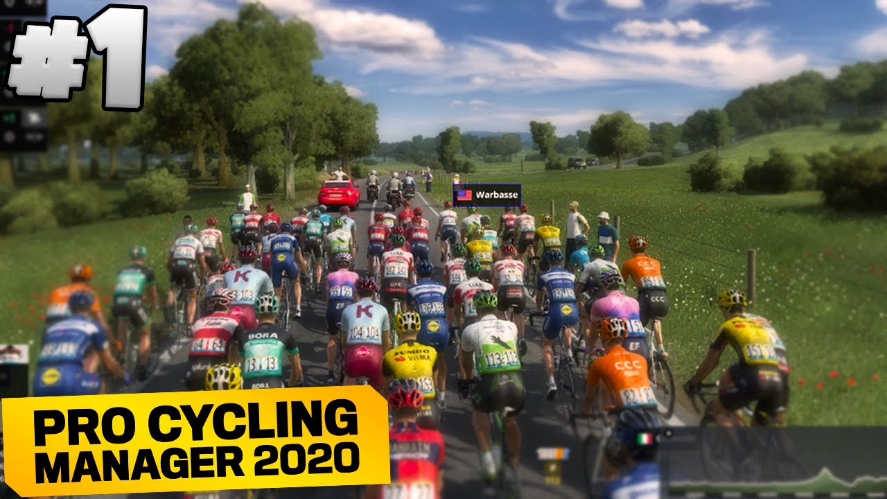 FIRST TIME PLAYING! - Pro Cyclist #1 | Pro Cycling Manager 2020 ...