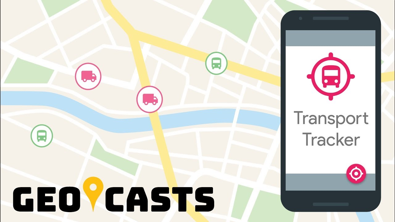 Transport Tracker Solution for Google Maps - Geocasts - YouTube