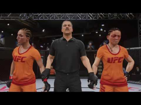Jessica Penne Career (EA Sports UFC 2 Gameplay)