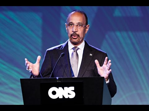 Khalid A. Al-Falih, CEO Saudi Aramco at ONS 2014 Conference