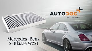 Гледайте видео ръководство за това как да заменете Спирачни апарати на MERCEDES-BENZ S-CLASS (W221)