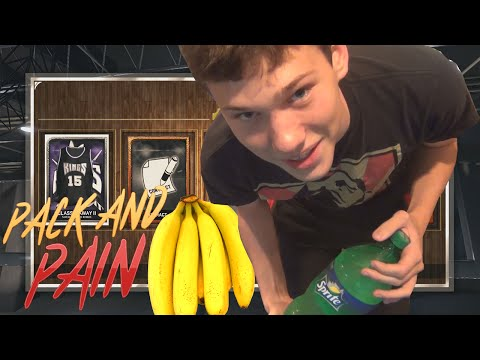 NBA 2K15 PACK OPENING EXTREME BANANA SPRITE CHALLENGE - PACK AND PAIN