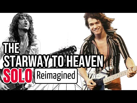 """What If EVH or Eric Johnson Played the """"Stairway to Heaven"""" Solo? (Feat. Eric Johnson)"""