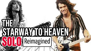 "What If EVH or Eric Johnson Played the ""Stairway to Heaven"" Solo? (Feat. Eric Johnson)"