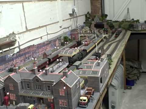 Tony's garage model railway part 2