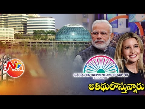 All Set for Global Entrepreneurship Summit-17 || Heavy Security for Modi and Ivanka || Special Focus
