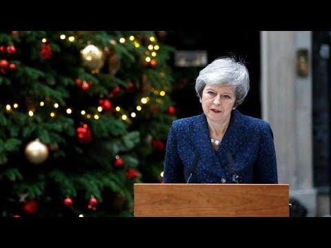 Theresa May enfrenta hoje moção de censura