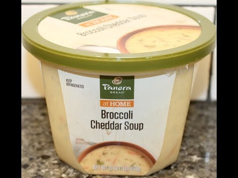 Panera Bread At Home: Broccoli Cheddar Soup Review