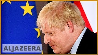 Brexit: Johnson's deal legislation to fast-track rejected