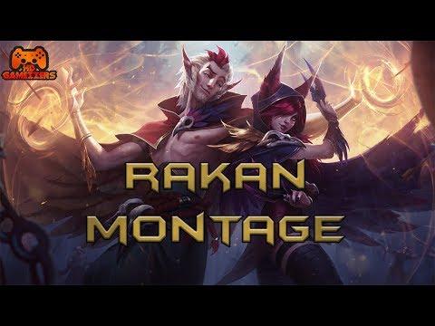 Rakan Montage #11 - Best Rakan Plays Montage Compilation S8 | League Of Legends / LoL