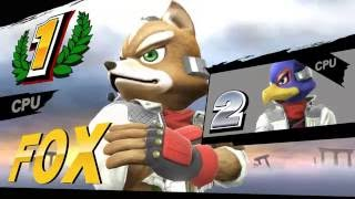 Super Smash Bros.Star Fox Brawl