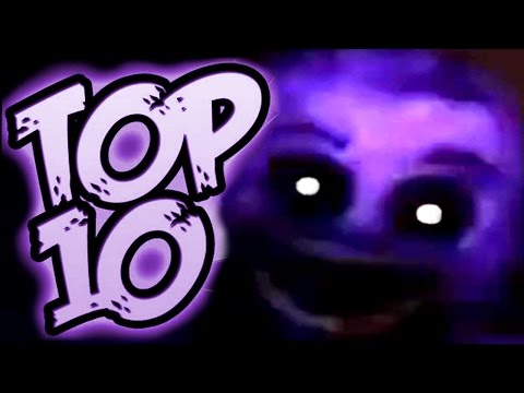TOP 10 SECRETS & RARE SCREENS - Five Nights at Freddy's 2
