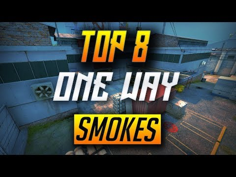 CACHE TOP 8 ONE WAY SMOKES - CS:GO (2018)