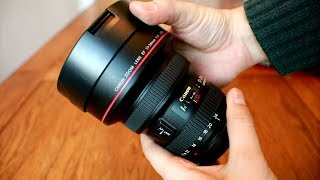 Canon EF 11-24mm f/4 USM 'L' lens review with samples (Full-frame and APS-C)