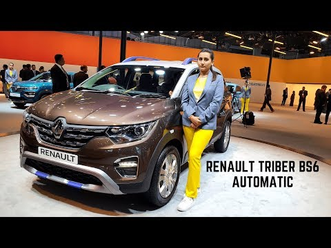 2020 Renault Triber BS6 Automatic FULL Detailed Review - New Interiors, Latest Features | Triber AMT